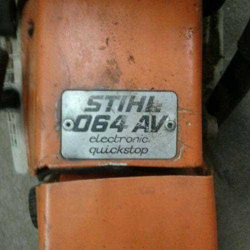 stihl 064 av chainsaw