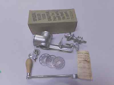 Vintage Kut-Easy Food Chopper Grinder Original Box No. 1557 Good Condition