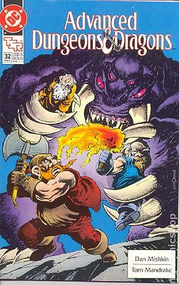 Advanced Dungeons and Dragons (1988) #32 FN