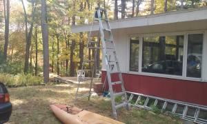 10' Aluminum Step Ladder (Wayland MA)