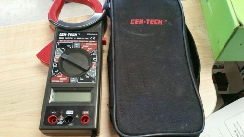 Cen Tech Digital Clamp Meter Mini : Clamp multimeter for sale classifieds