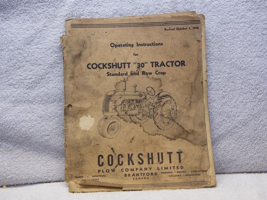 Original 1948 Cockshutt