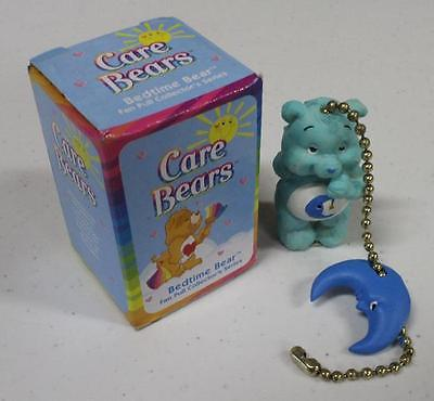 Vintage CARE BEARS Fan Pull Chain - Bedtime Bear (2004)