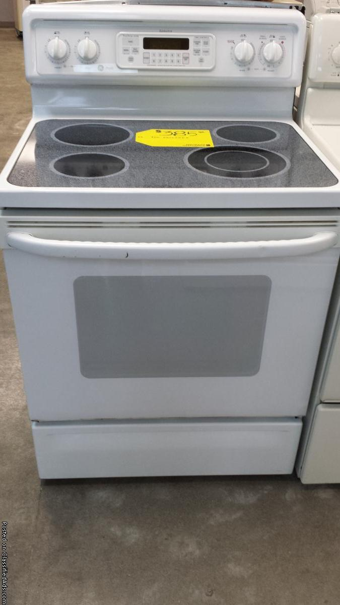 Ge Spectra Electric Stove - For Sale Classifieds