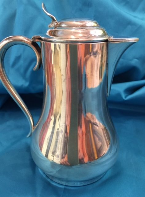 Silver Plate Syrup pitcher