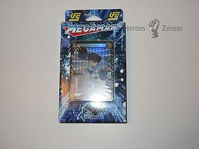 Mega Man UFS Collectible Card Game CCG MEGA MAN STARTER DECK Blue Pack New NIB