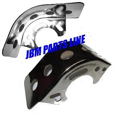 Chrome Chain Guard, Chain Deflector, Go Kart or Mini Bike Universal NEWl