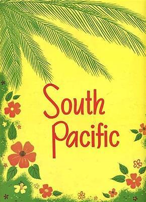 South Pacific Souvenir Programs Rogers & Hammerstein Janet Blair Webb Tilton