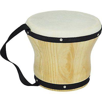 Rhythm Bongos Band Bongos Single Medium 6 in. H x 5-1/2 in. Dia. New Free Fast