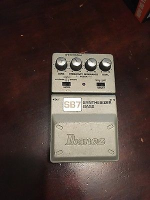 Ibanez SB7 Bass Guitar Effect Pedal