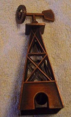 Vintage Metal/Brass/Copper Wind Mill  Shaped Pencil Sharpener