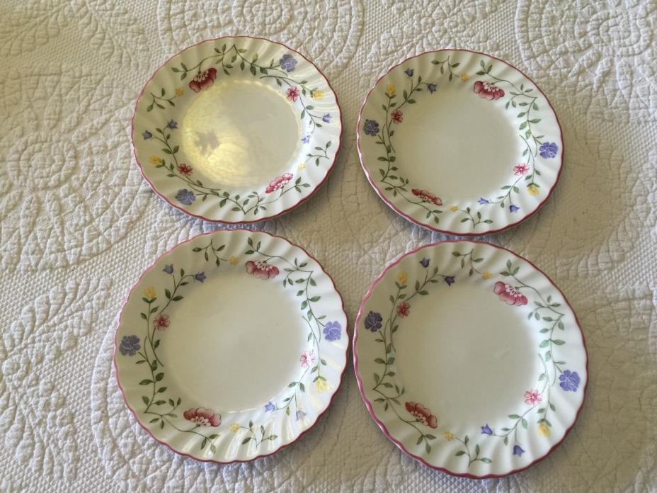 Johnson Bros Summer Chintz Bread Plates...4