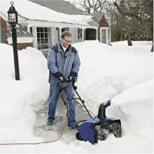 Electric Snow Thrower Blower Ultra 21-Inch 15-Amp Ultra Powerful