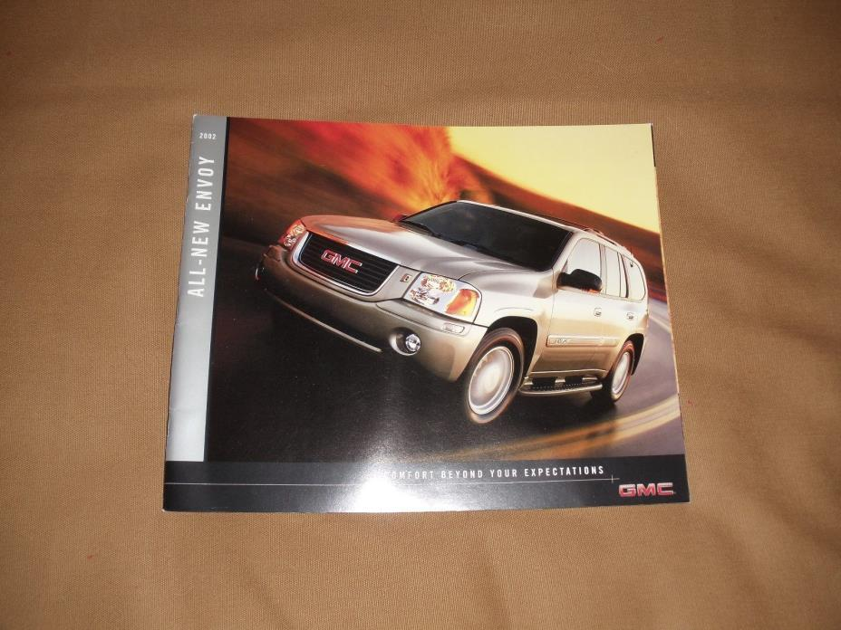 GMC Envoy 2002 Original Sales Brochure