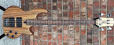 Wal MK 1 4 string Zebra wood