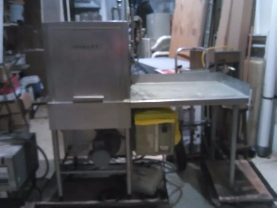 Hobart Pass Thru Commercial Dishwasher AM12
