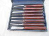 Vintage Craftsman Wood Chisel Set This is a Set of Old Quality V
