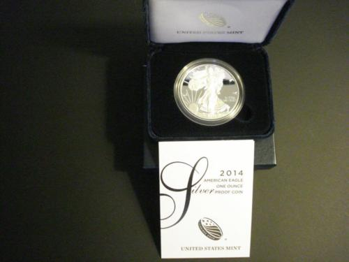 2014 SILVER PROOF EAGLE