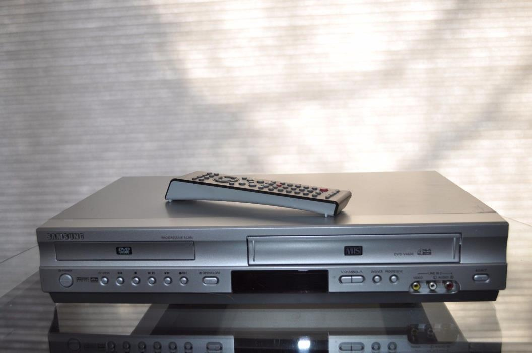 SAMSUNG DVD - V4600 DVD Player VCR Recorder Works Great