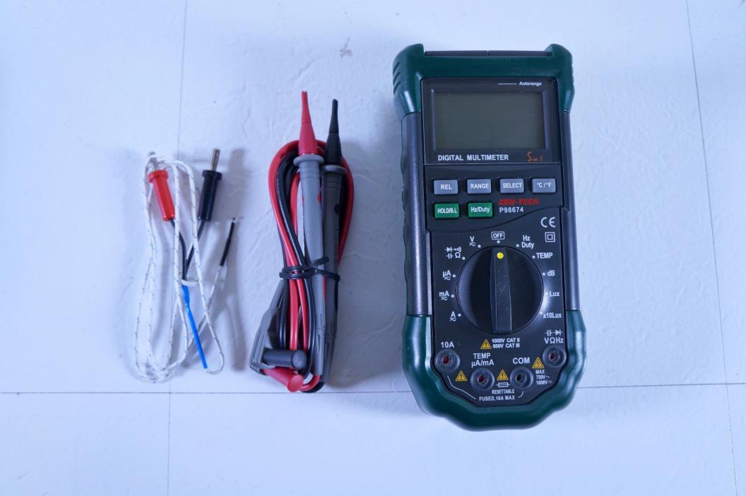 Cen Tech Multimeter : Cen tech multimeter for sale classifieds