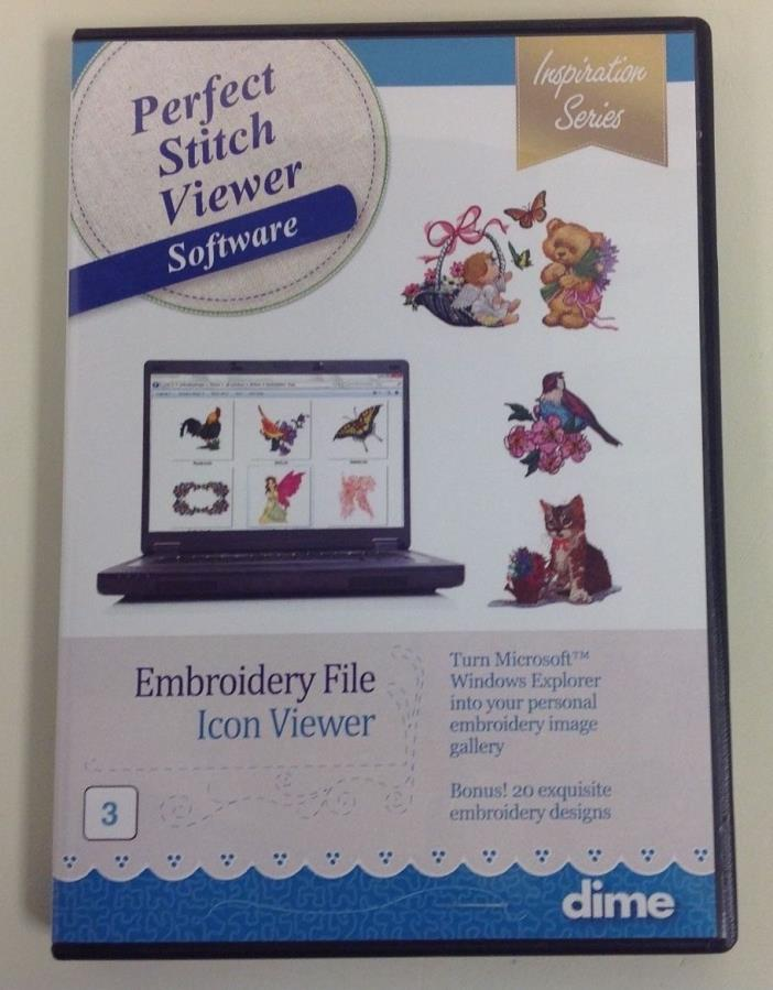 Pc Viewer For Embroidery Designs