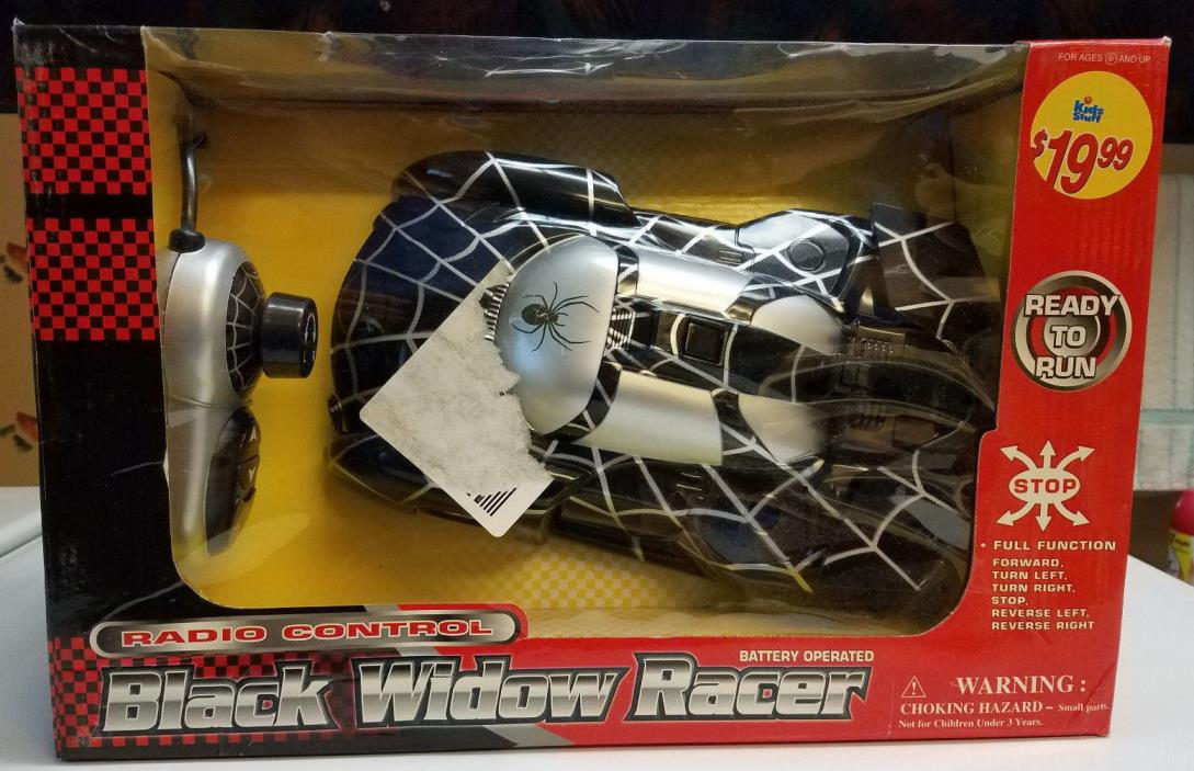 Kids Stuff Black Widow spider Racer Remote Control Car BLACK and Silver 11