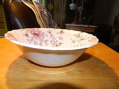 Johnson Bros Rose Chintz Vegetable Bowl  Floral