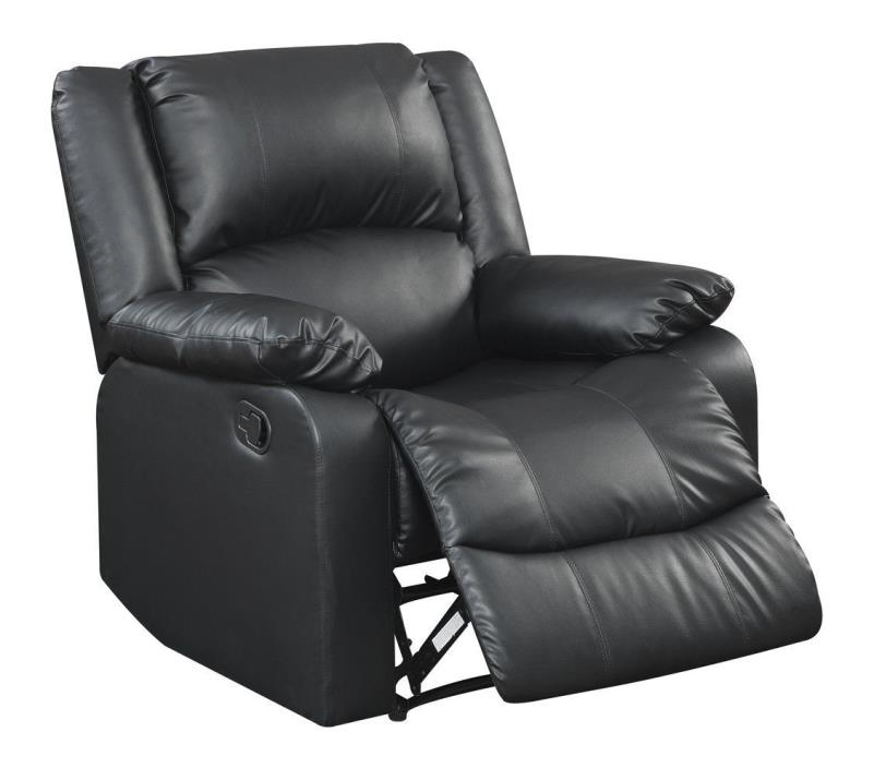 Recliner Chair Seat Furniture Living Room Comfortable Lounge Sofa Faux Leather