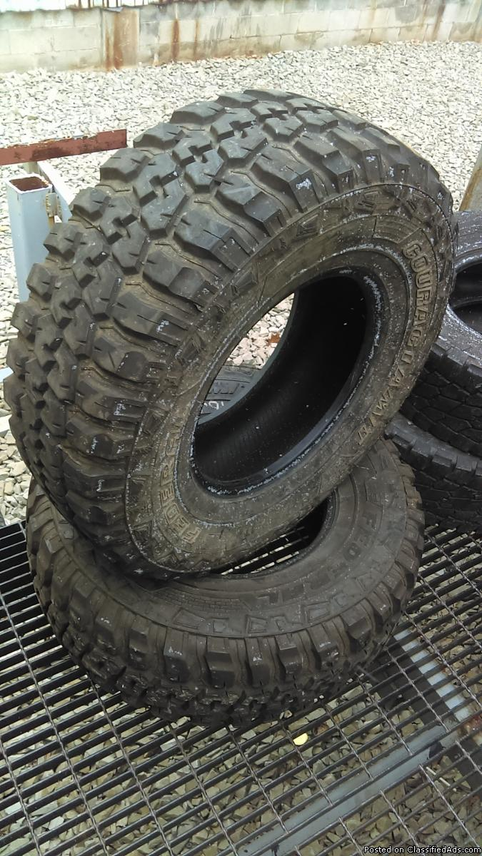 Quality used tires 35 x 12.5 x 17