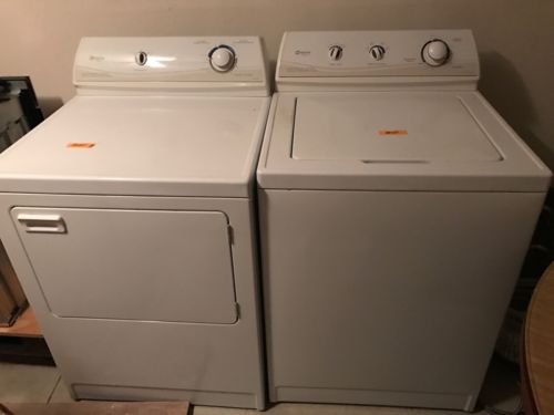 Maytag Electric Washer And Gas Dryer