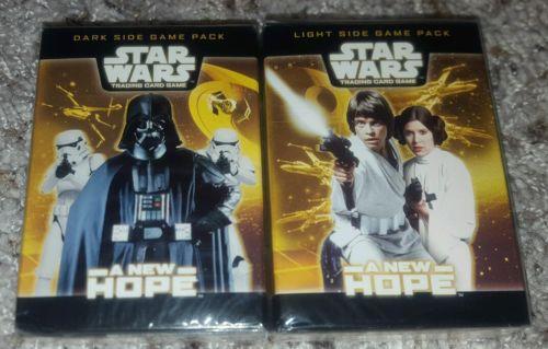WOTC Star Wars TCG A New Hope Light & Dark Starter Decks *SEALED*