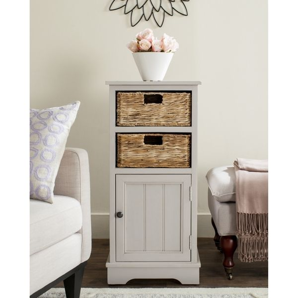 Small Kitchen Cabinet Storage Cabinets With Baskets Home Storage Solutions White