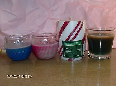 4 Candle Set 3 Scented Air Freshners