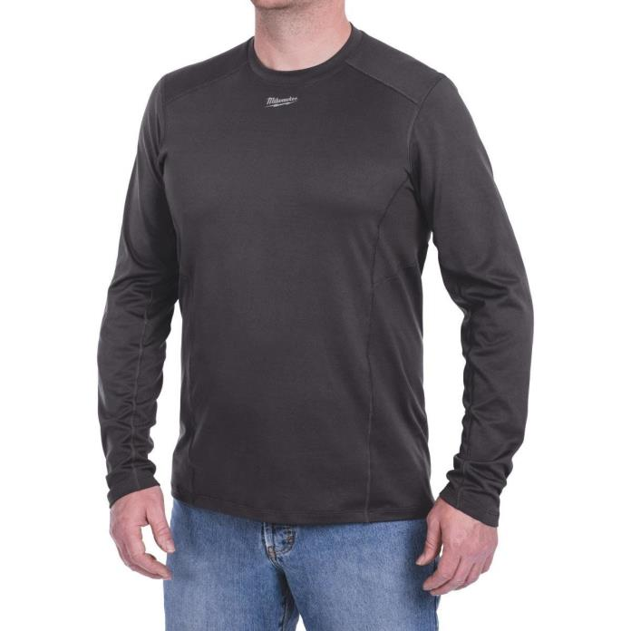 Milwaukee WorkSkin Men's Medium Gray Long Sleeve Shirt
