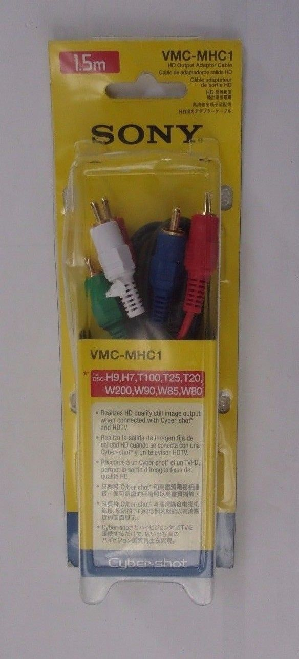 Sony VMC-MHC1 1.5 Meter HD Output Adapter Cable for Cyber-shot cameras