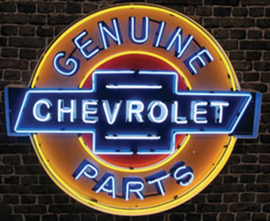 Chevrolet Neon Sign For Sale Classifieds