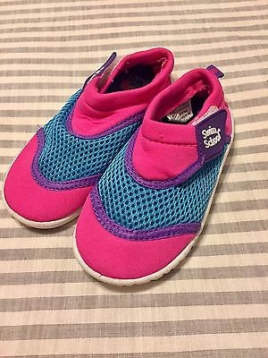 Toddler 7/8 Girls Swim School Water Shoes