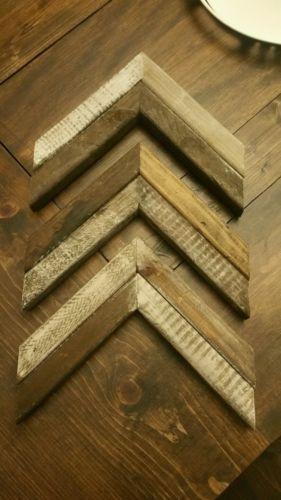 3 Wood Chevron Arrows 11