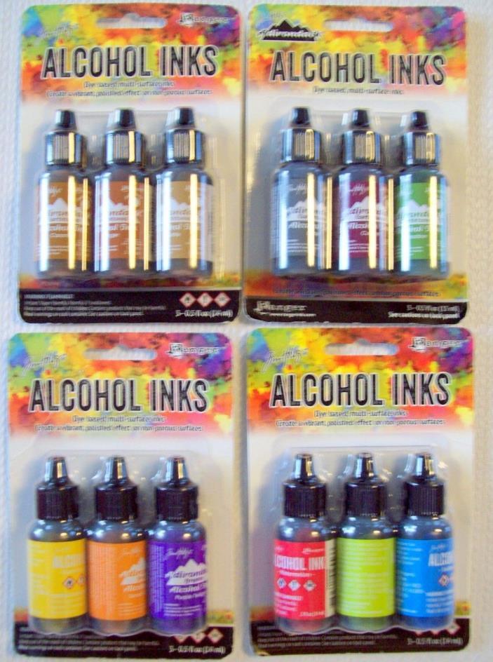 Tim Holtz Adirondack Alcohol Inks / 3 Pk.     NIP