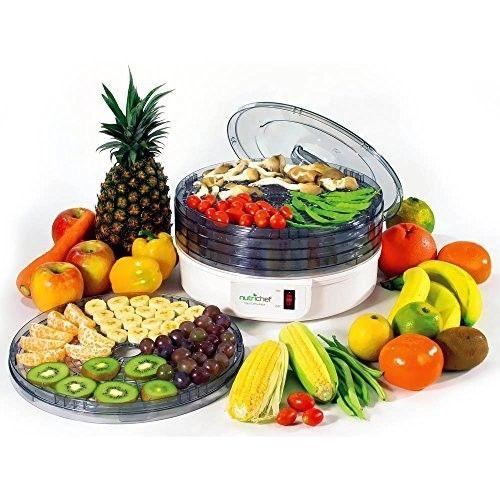 Food Dehydrator, Kitchen Electric Countertop Food Preserver Healthier