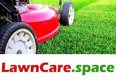 LawnCare.space Domain Name for Local LAWN CARE Service Company Website