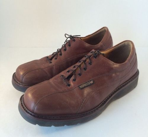 Mephisto Abel Air-Relax Goodyear Welt Brown Leather Oxford Shoes 10M US 9.5 EUR