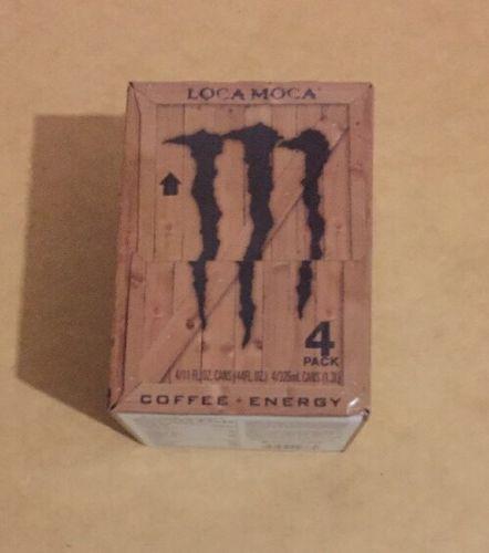 Java Monster 4 Pack Loca Moca Energy Drink