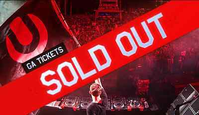 2 Ultra Music Festival 2017 | 3 Day Tickets SOLD OUT 03/24 - 03/26/17 (Miami)