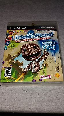 LittleBigPlanet -- Game of the Year Edition (Sony PlayStation 3, 2009) PS3 CIB