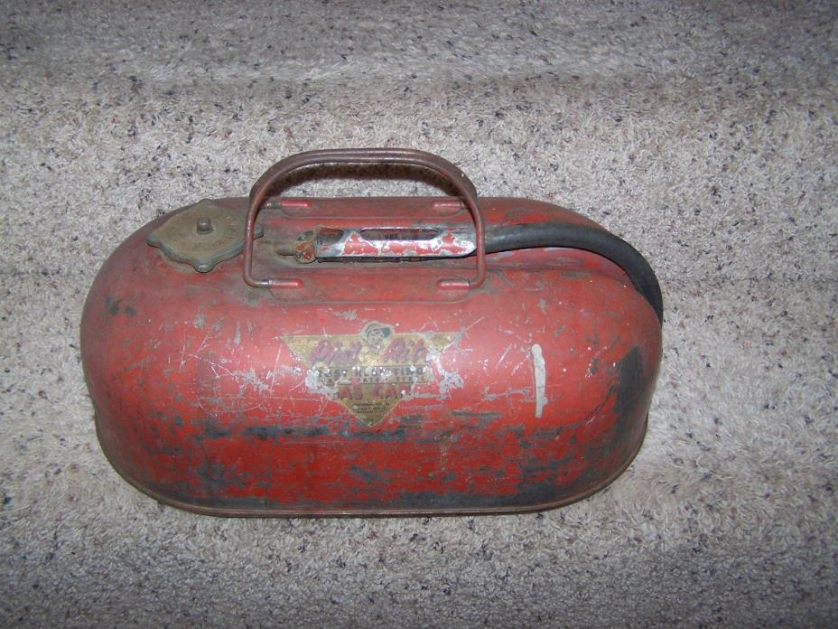 Vintage 1950's PHIL RITE Outboard Motor Boat Gas Can