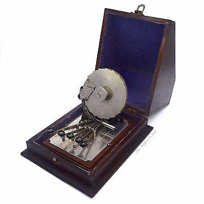 Antique CENTIGRAPH American Adding Machine Company ca.1891 Column Calculator