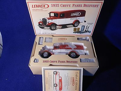 Lennox 1935 Chevy Panel Delivery 1:24 Scale Die Cast Replica FREE SHIPPING in US