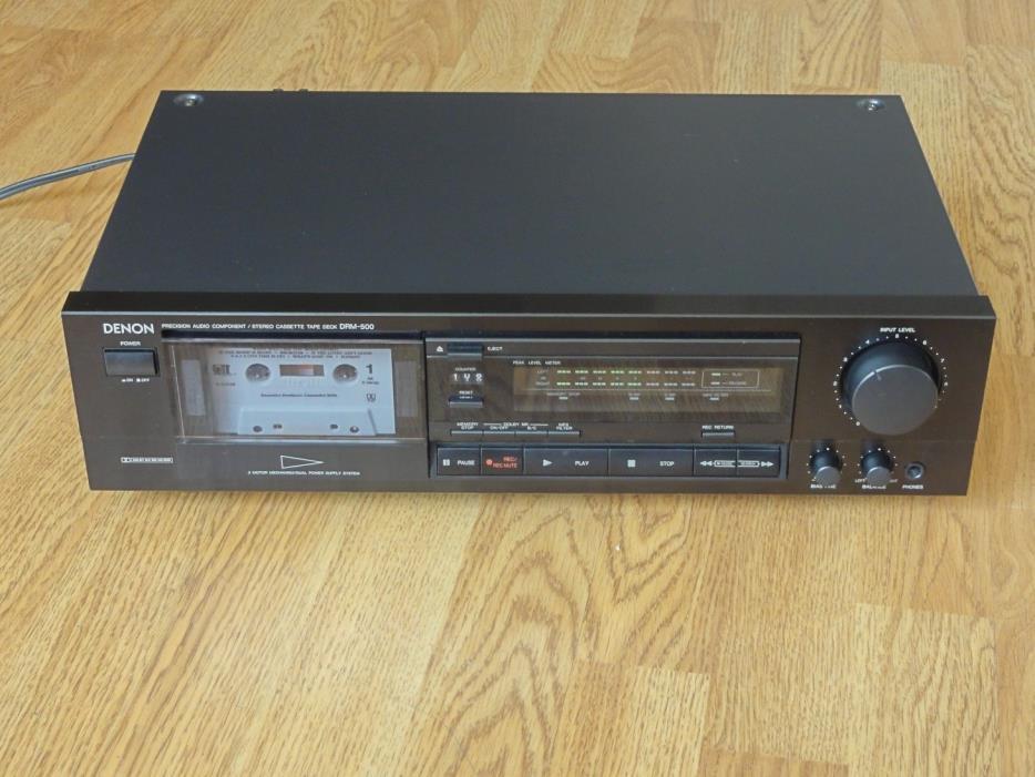 Denon DRM-500 Stereo Cassette Tape Deck