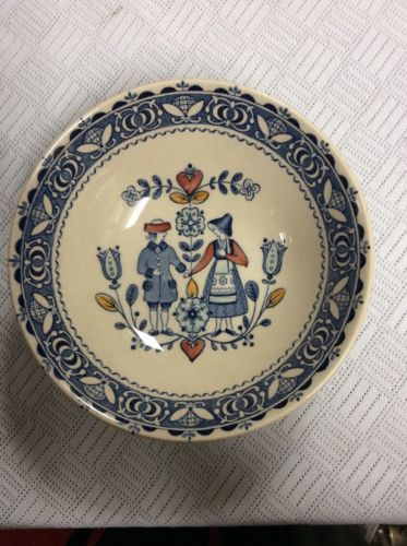 Staffordshire Old Granite Hearts And Flowers By Johnson Bros Bowls